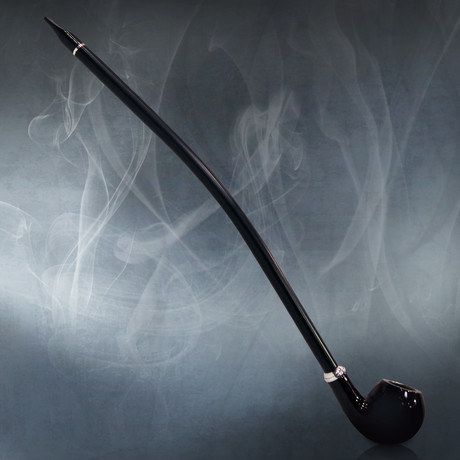 "Gandalf Pipe // 15"" Long Stem Churchwarden Pipe"