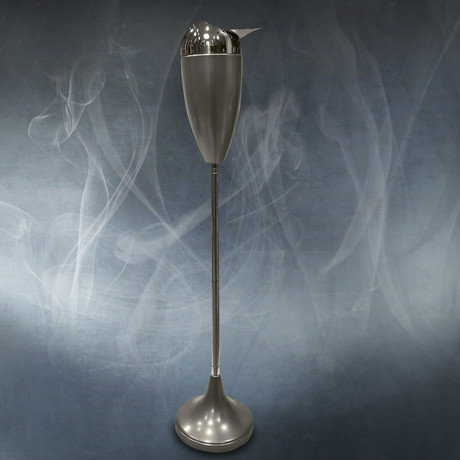 Telescopic Ashtrays // Stainless Steel (Silver)