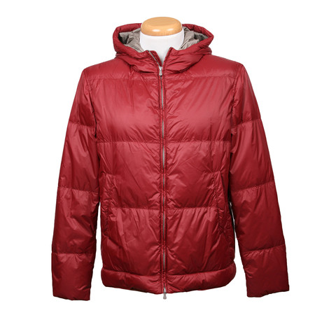 Bruno Jacket // Burgundy (XS)