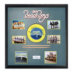 Signed + Framed Drumhead Collage // The Beach Boys