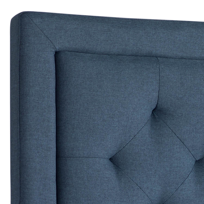 Rectangle Diamond Tufted Upholstered Headboard Atlantic