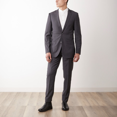Slim Fit Suit // Medium Gray (US: 36S)
