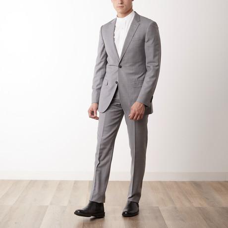 Slim-Fit Suit // Light Grey (US: 34R)