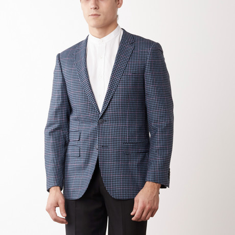 Bella Vita // Slim Fit Suit // Blue Box Window (US: 36S)