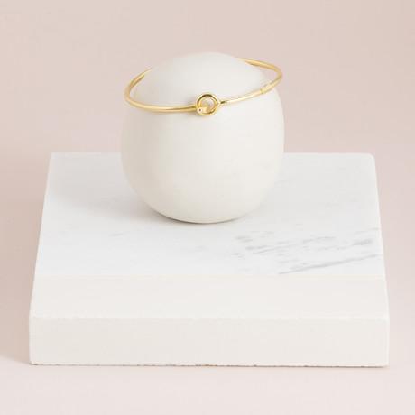 Hook Bracelet // Gold