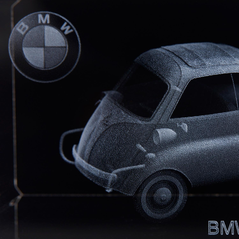 3D BBCrystal // BMW Isetta (Crystal Only) - PhenoLux