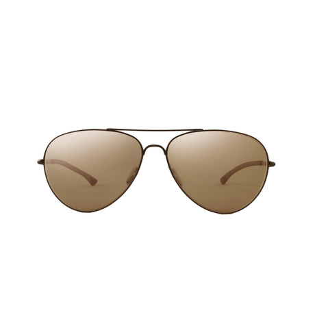 Smith // Audible Aviator // Brown + Polarized Brown