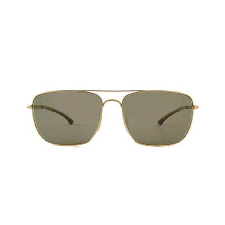 Smith // Nomad Chromapop Polarchromic Sunglasses // Matte Gold + Polarized Green