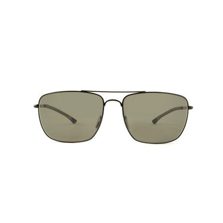 Smith // Nomad Chromapop Polarchromic Sunglasses // Matte Black + Polarized Gray Green