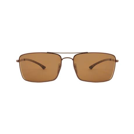 Smith // Outlier Chromapop Polarchromic Polarized Sunglasses // Matte Brown