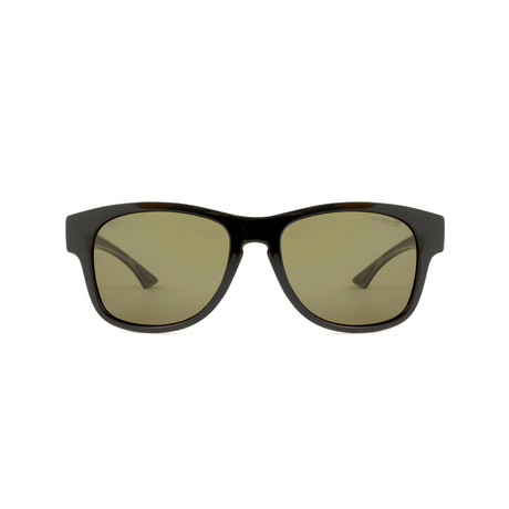 Smith // Chromapop Polarchromic Square Sunglasses // Black + Polarized Green