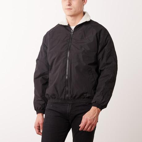 Winter Track Jacket // Black (M)