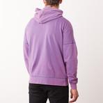 Vintage Hoodie // Purple (M)