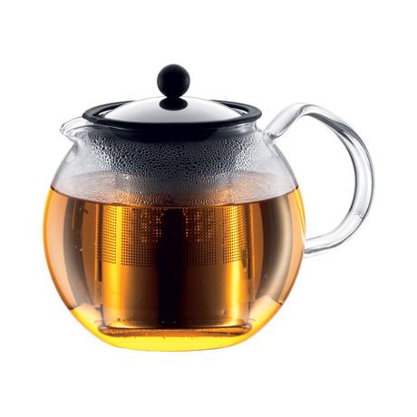 Assam Tea Press + Stainless Steel Filter