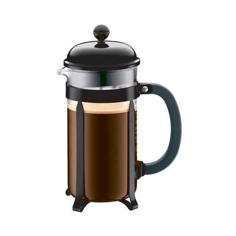 Chambord French Press Coffee Maker // Black // 4-Cup