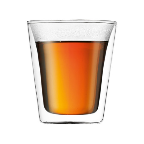 Canteen Double Wall Glass Set // Set of 6