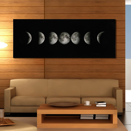 Moon // Reverse Printed Tempered Art Glass