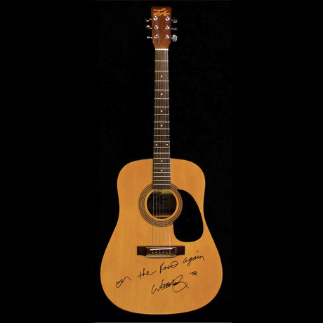Willie Nelson // Signed Acoustic (Unframed)