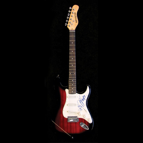 Bee Gee's // Signed Stratocaster (Unframed)