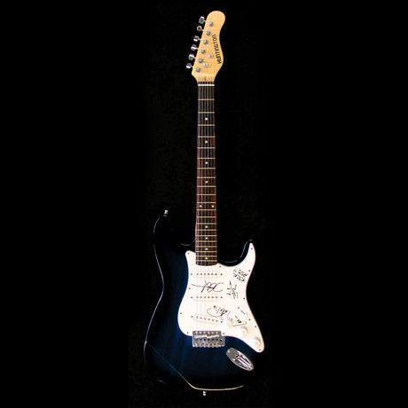 Metallica // Signed Stratocaster (Unframed)