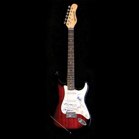 Motley Crue // Signed Stratocaster (Unframed)