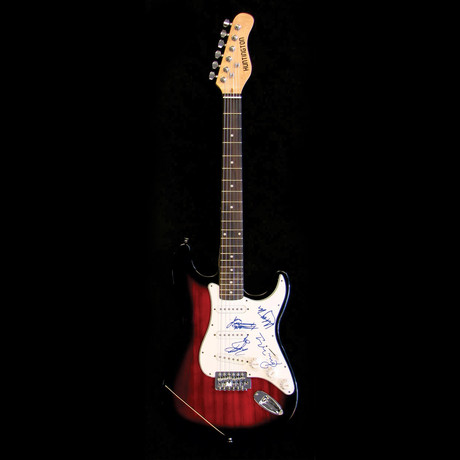 The Rolling Stones // Signed Stratocaster (Unframed)