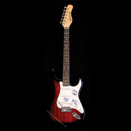 Van Halen // Signed Stratocaster (Unframed)