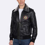 Cullen Leather Jacket // Black (M)