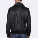Cullen Leather Jacket // Black (S)