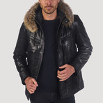 Sansome Leather Jacket // Black (XS)