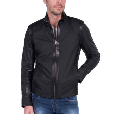 Presidio Leather Jacket // Black (S)