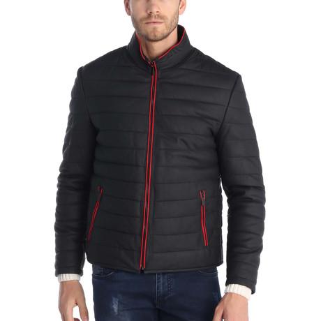Matteo Leather Jacket // Black (S)