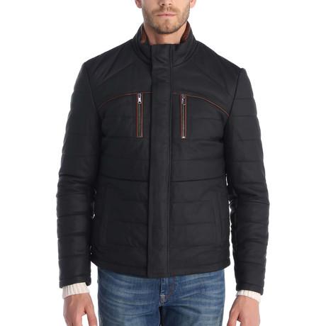 Bay Leather Jacket // Black (S)