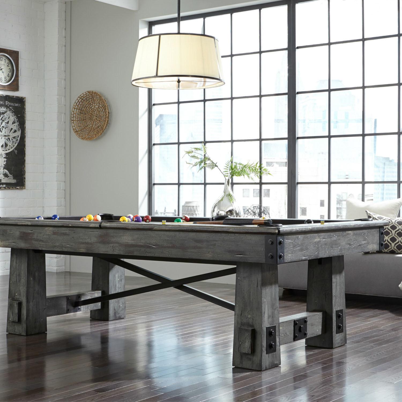 Fresco 8 Pool Table 1 Certified Slate Titanium Felt