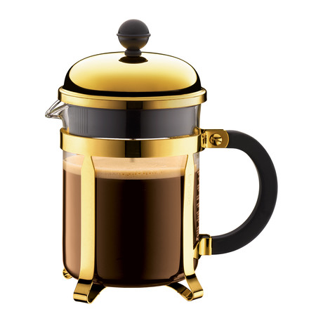 Chambord French Press Coffee Maker // Gold // 4-Cup
