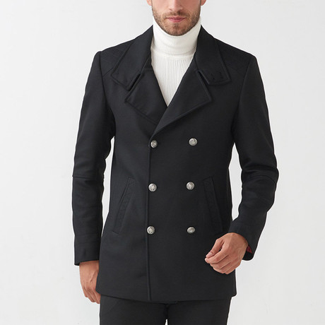 Vine Coat // Black (Euro: 44)
