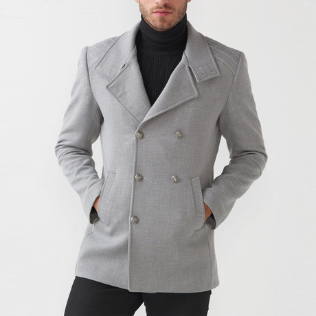 MCR // Bailey Coat // Gray (Euro: 46)