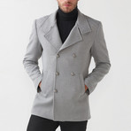 Bailey Wool Coat // Gray (Euro: 46)
