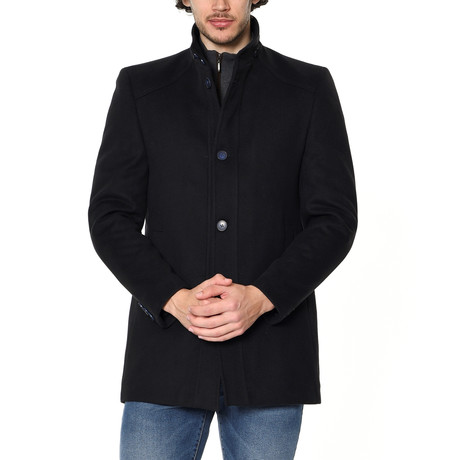 PLT8326 Overcoat // Dark Blue (M)