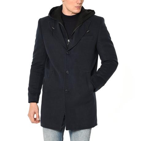 PLT8331 Overcoat // Dark Blue (M)