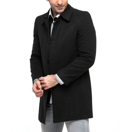 PLT8344 Overcoat // Anthracite (M)