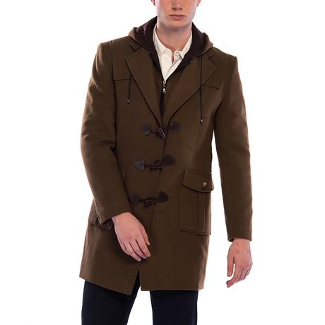 PLT8352 Overcoat // Camel (M)