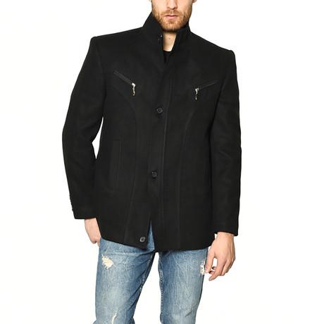K7126 Coat // Black (M)