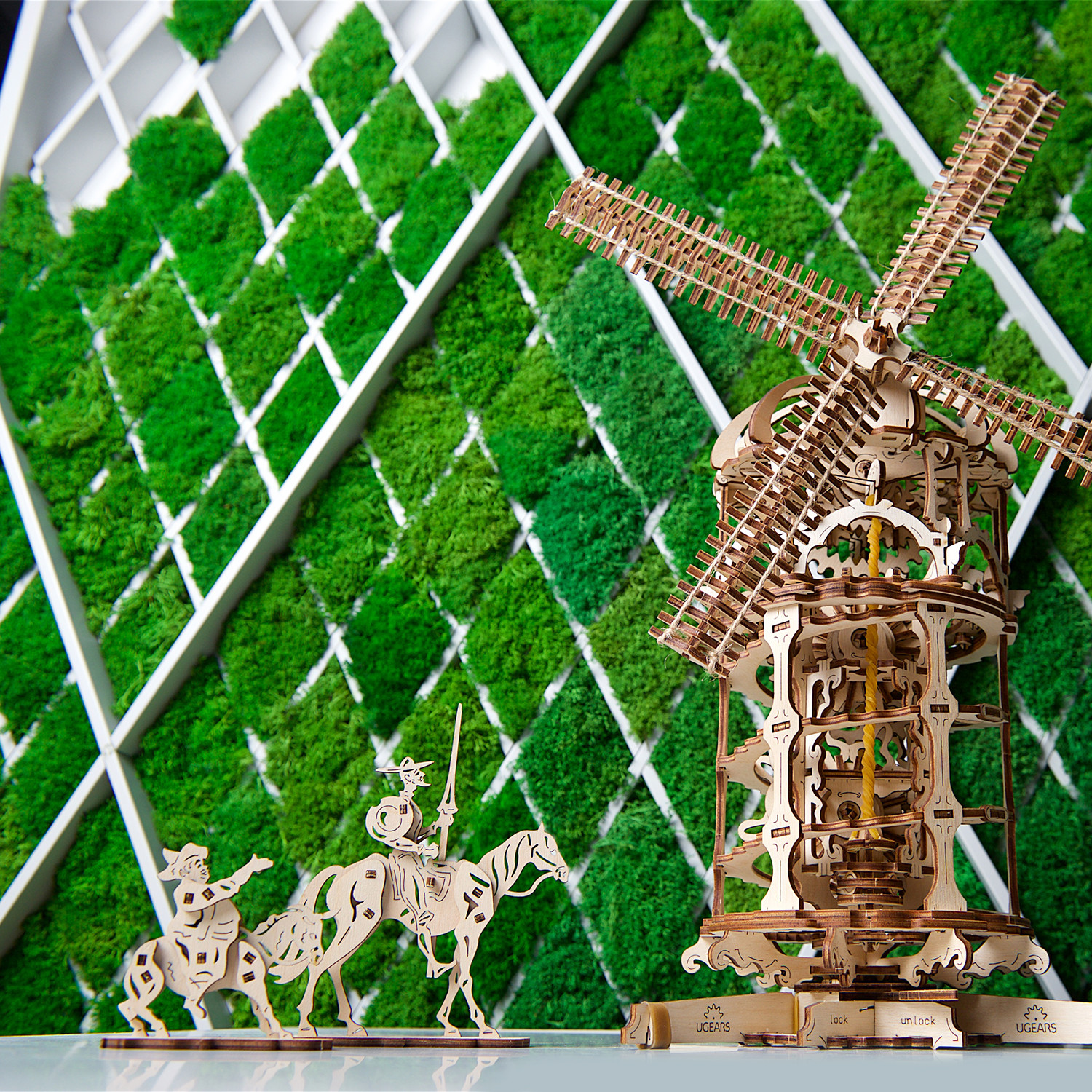 Tower Windmill - UGears - Touch of Modern
