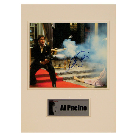 Al Pacino // Scarface // Signed Photo