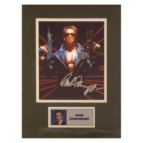 Arnold Schwarzenegger // Terminator // Signed Photo
