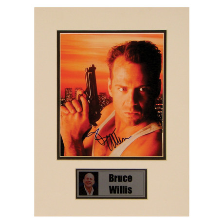 Bruce Willis // Die Hard // Signed Photo