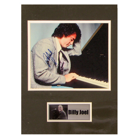 Billy Joel // Signed Photo