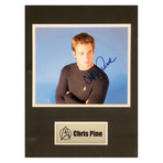 Chris Pine // Star Trek // Signed Photo