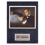 Daniel Craig // 007 // Signed Photo